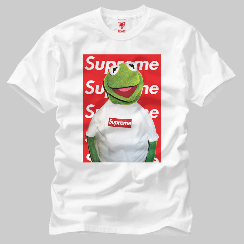 Kermit Supreme Wallpaper Erkek Tisort Crazy